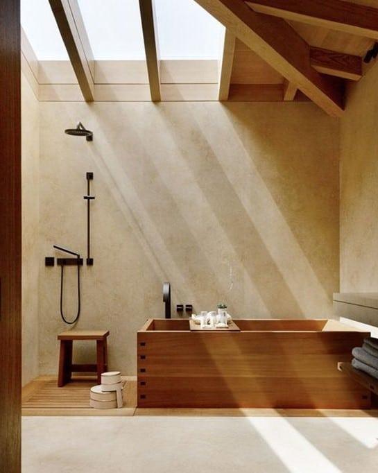 Baño Estilo Japandi