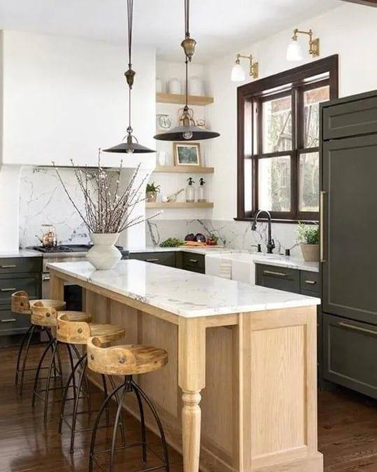 Diseño Cocina Transicional